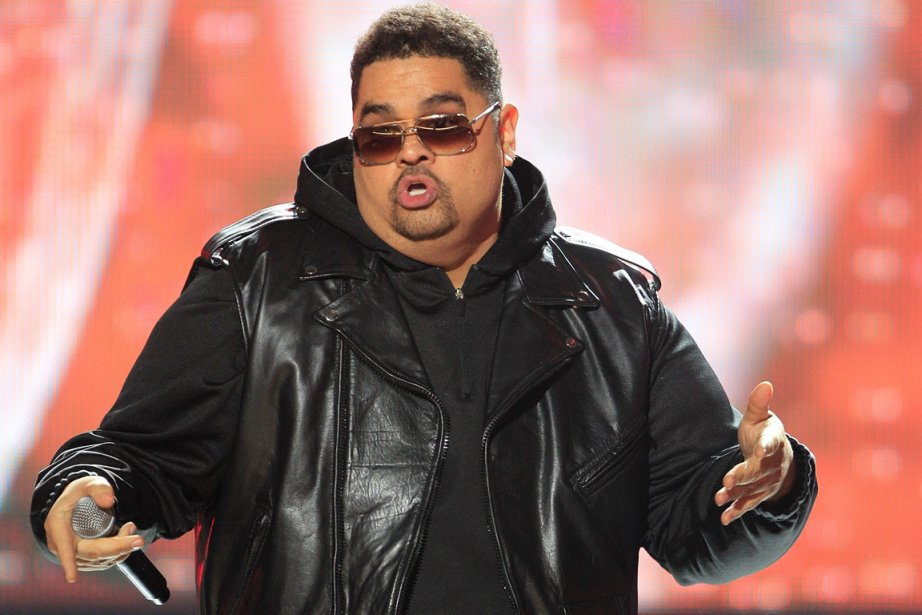 Heavy D sur la scène des BET Hip... (Photo: David Goldman, AP)