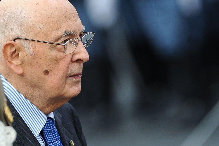 Le président italien Giorgio Napolitano a souligné que... (Photo: AFP)