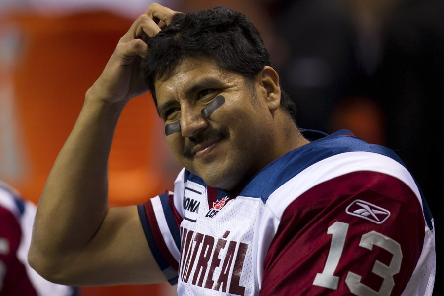 Anthony Calvillo, le quart des Alouettes, a été... (Photo: PC)