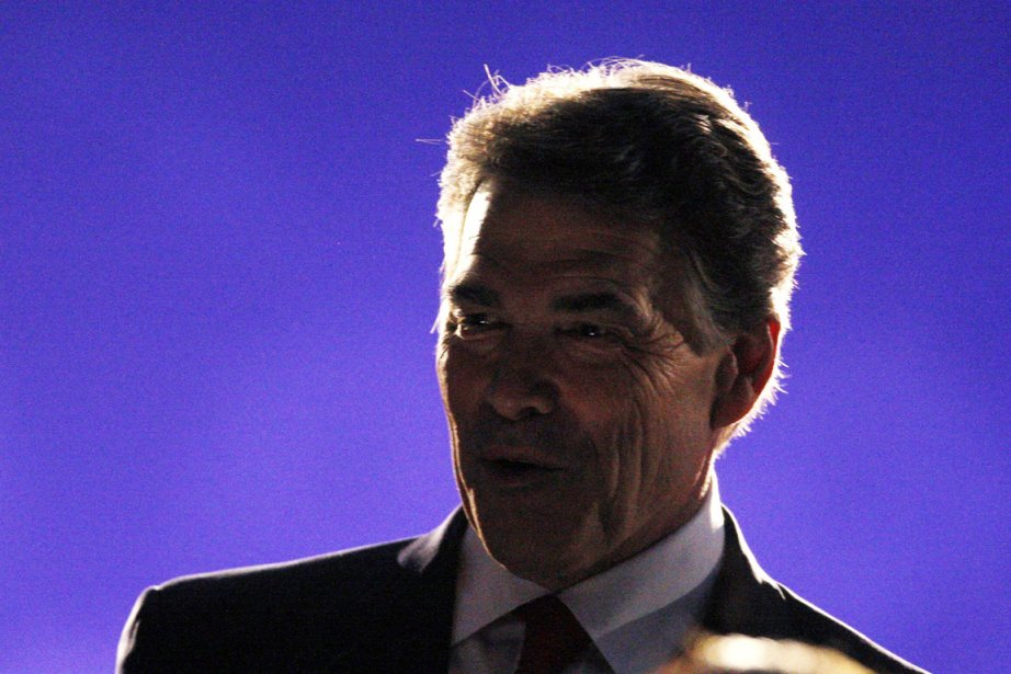 Le gouverneur du Texas, Rick Perry, n'a pas... (Photo: Mark Blinch, Reuters)