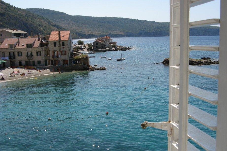 L'hôtel Private accomodation, en Croatie... (Photo: Noémie Albert)