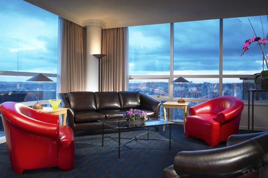 Le Sheraton Wall Center, Vancouver... (Photo: fournie par l'hôtel)
