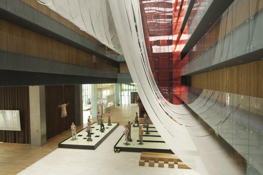 The Opposite House, Pékin... (Photo: Philippe-Aubert Messier)