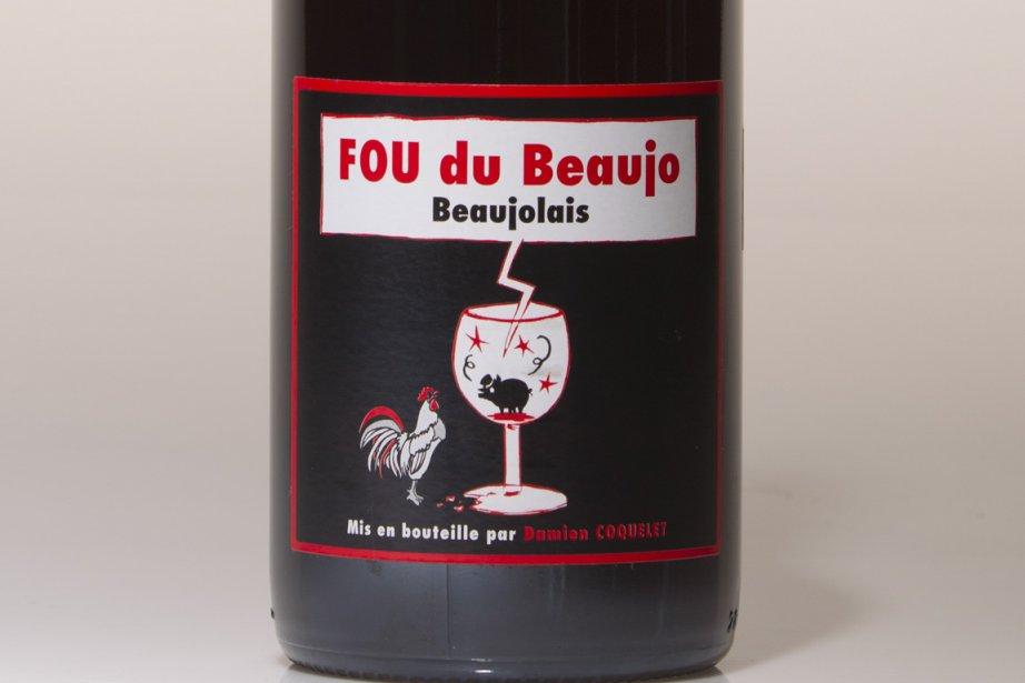 La cuvée Fou du beaujo.... (Photo: Ivanoh Demers, La Presse)