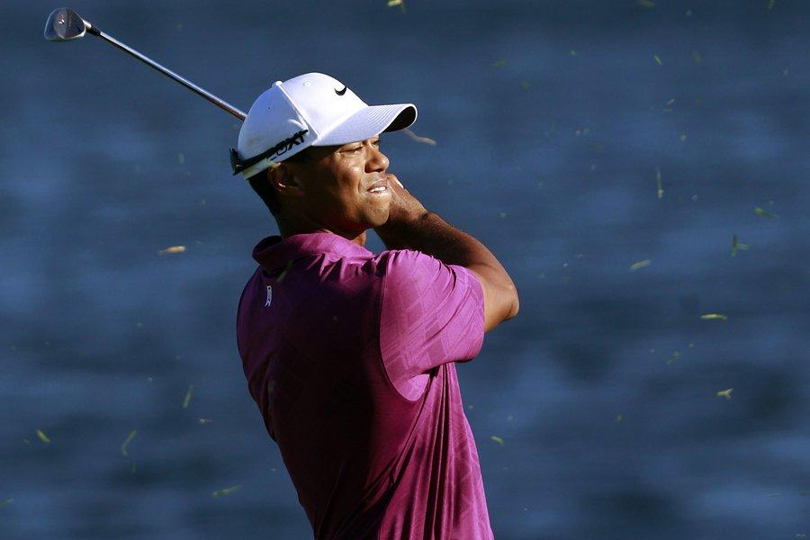 Tiger Woods a remis une carte de 68... (Photo: Reuters)