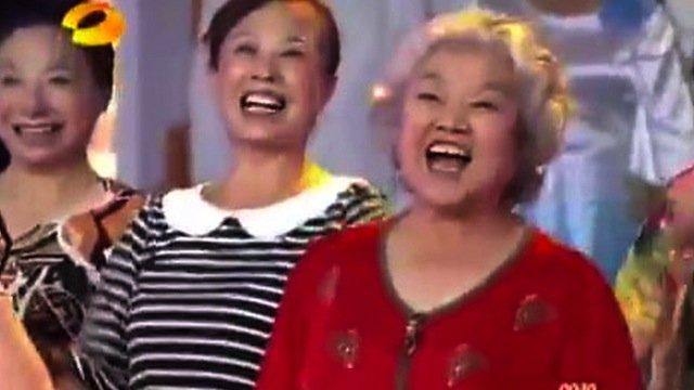 La télévision chinoise défraie rarement la chronique, mais... (Photo: Hunan TV)