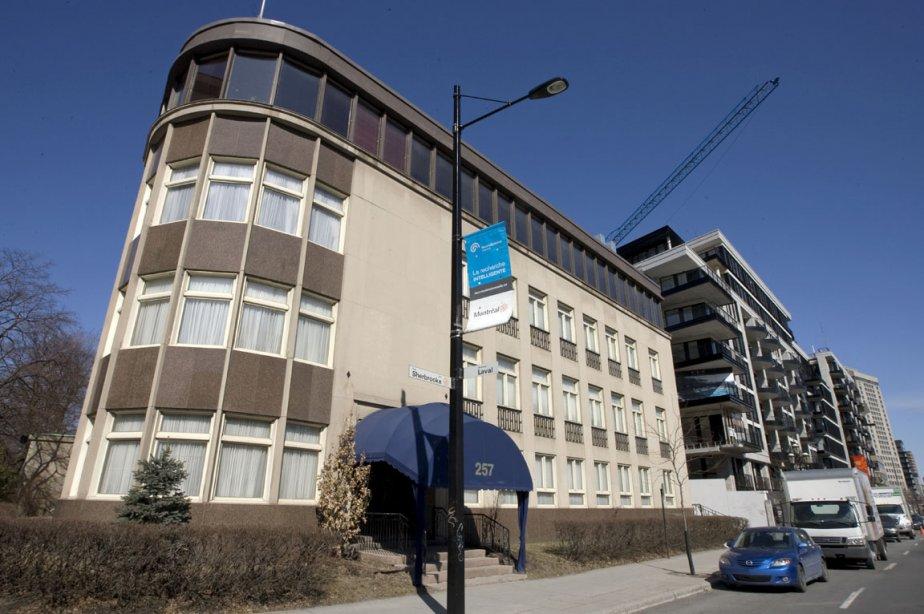 Le bâtiment où se situait le Club Saint-Denis.... (Photo: Alain Roberge, Archives La Presse)