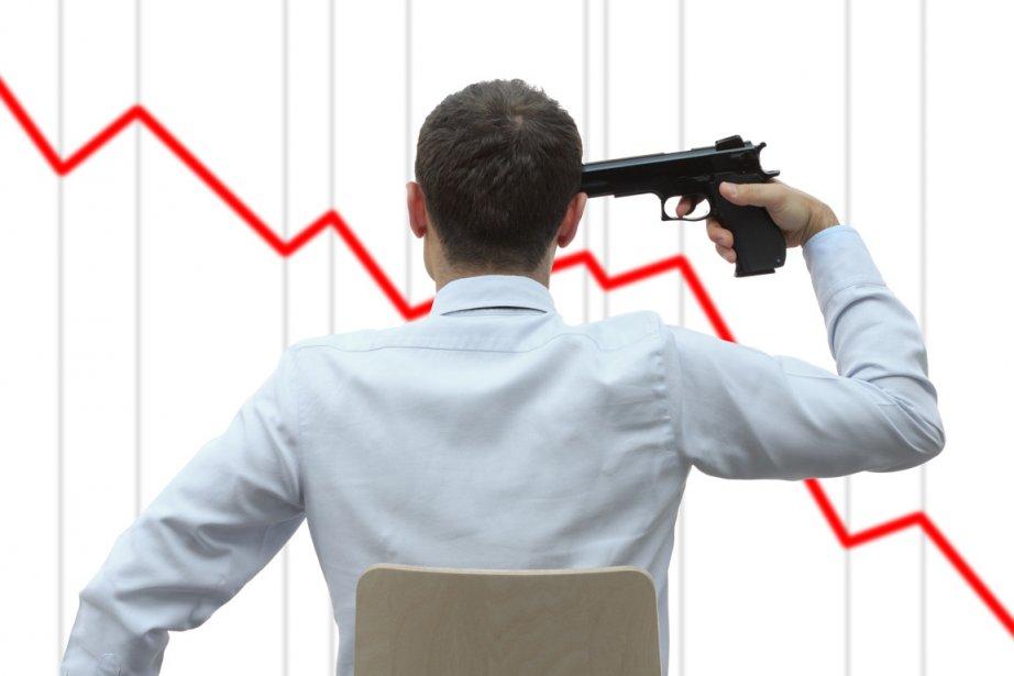 Le taux de suicide chez les Grecs a augmenté de 40% au premier... (Photos.com)