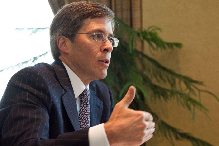 Le patron de la Financière Power, Jeffrey Orr... (Photo: Hugo-Sébastien Aubert)