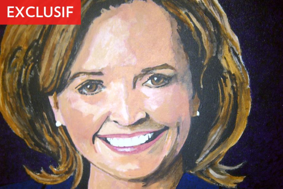 Le portrait de l'ex-députée Josée Verner, devenu sénatrice... (Photo: La Presse)