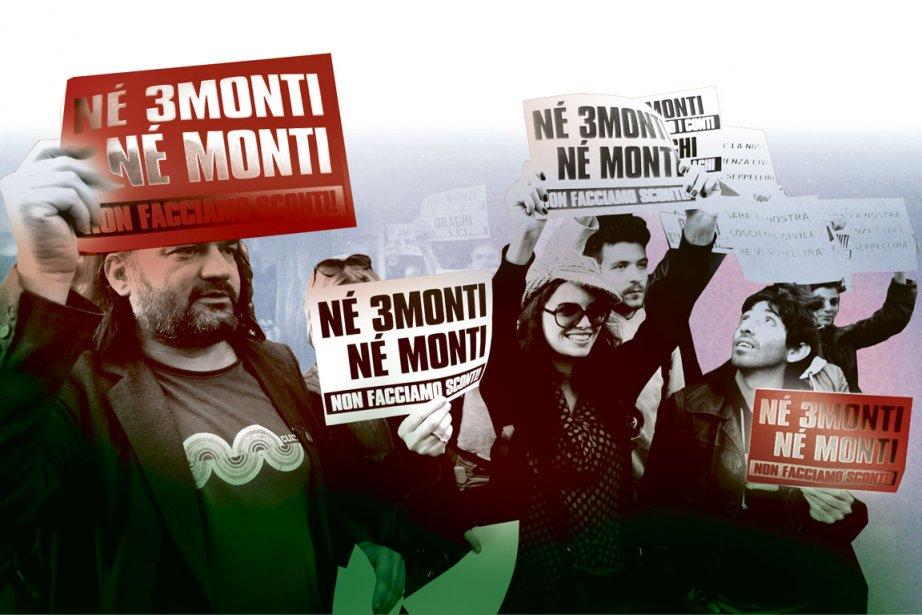 Mario Monti, 68 ans, économiste, qui a représenté... (Photomontage La Presse)