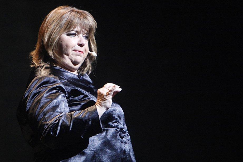 Lise Dion est angoissée par le fait de... (Photo: Simon Séguin-Bertrand)