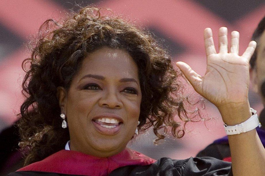 Oprah Winfrey recevra le Jean Hersholt Humanitarian Award... (Photo: KIMBERLY WHITE, Reuters)