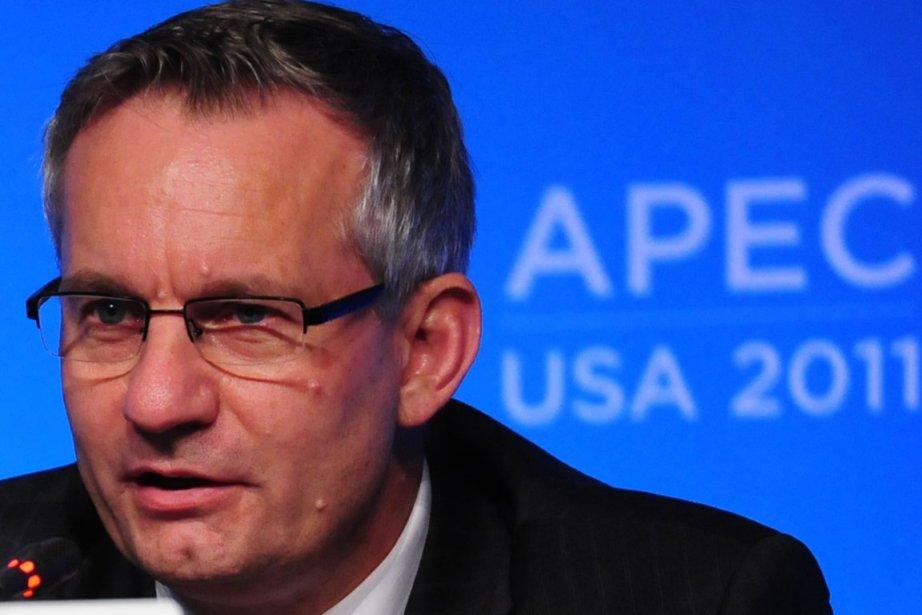Le ministre du Commerce international, Ed Fast.... (Photo: Richard A. Brooks, AFP)