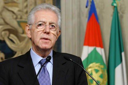 Mario Monti... (Photo: AP)