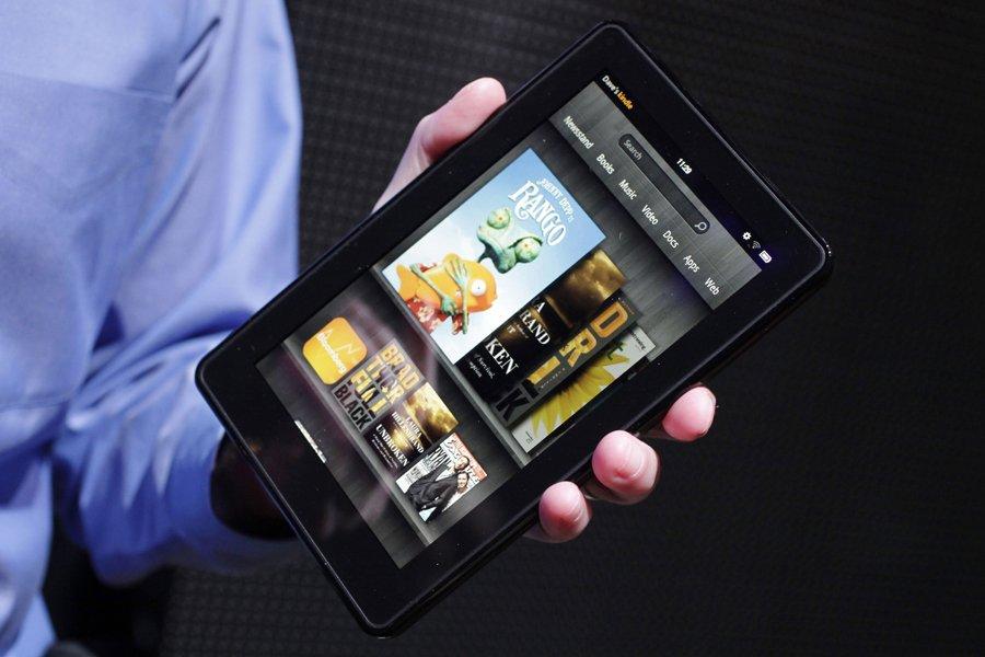 La nouvelle tablette Kindle Fire d'Amazon.... (Photo: AP)