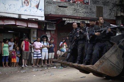 Rio compte quelque mille favelas installées le plus... (Photo: AP)