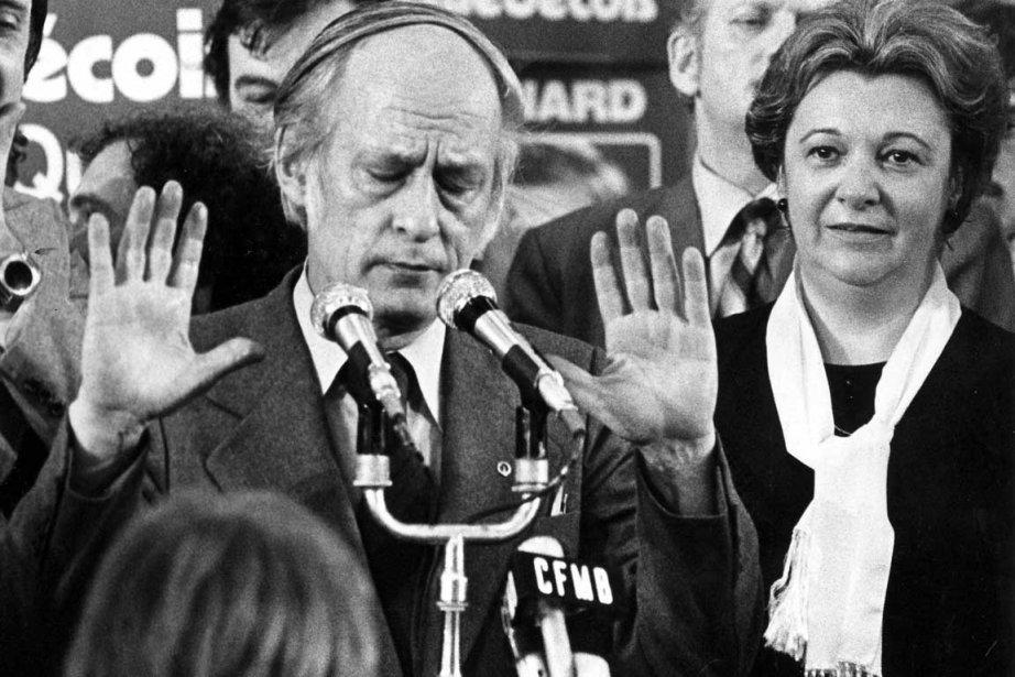 René Lévesque et Lise Payette.... (Archives La Presse Canadienne)