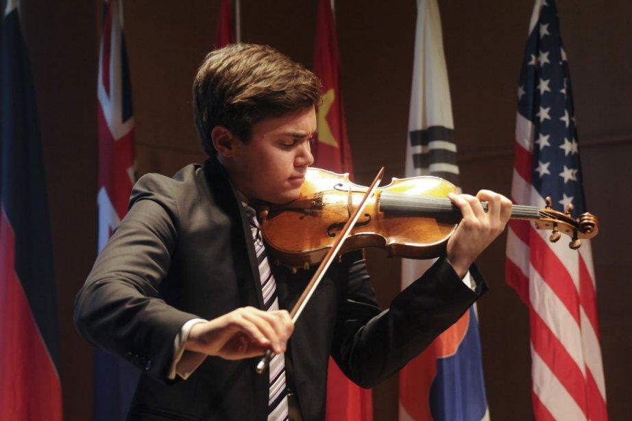 Le violoniste américain Benjamin Beilman.... (Photo fournie par Gunther Gamper)