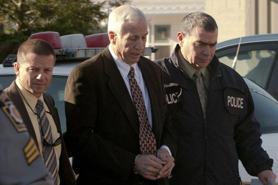 L'ancien coordonnateur défensif de l'Université Penn State Jerry... (Photo: Reuters)