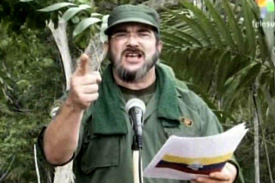 Le nouveau chef de la guérilla des Forces... (Photo: archives AFP)