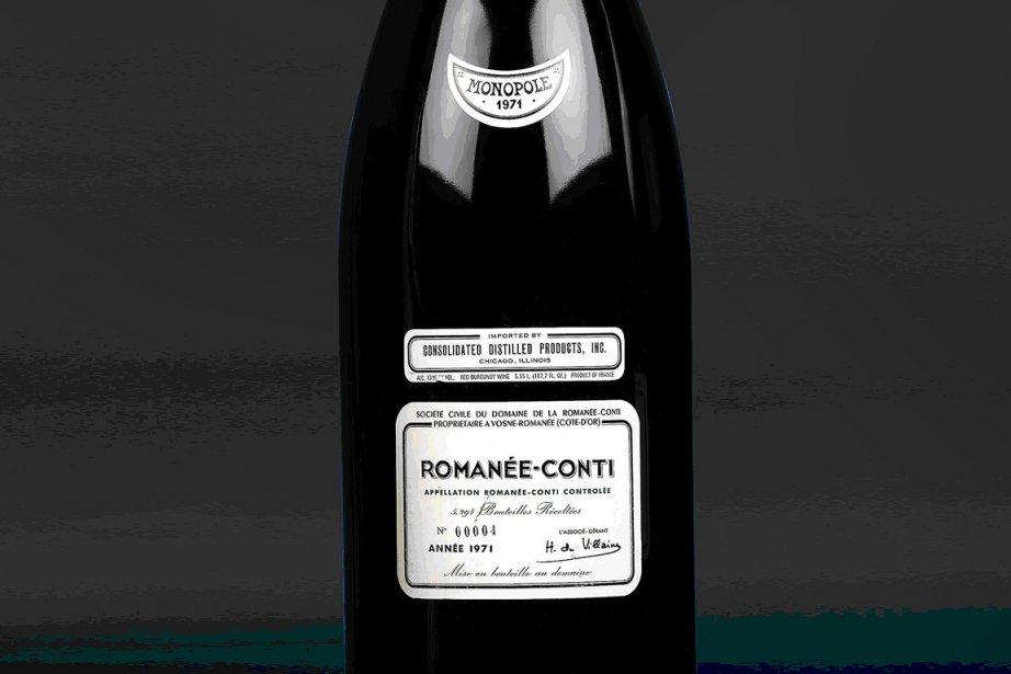 Un Methuselah 1971 du domaine de la Romanée-Conti.... (Photo: Bloomberg)