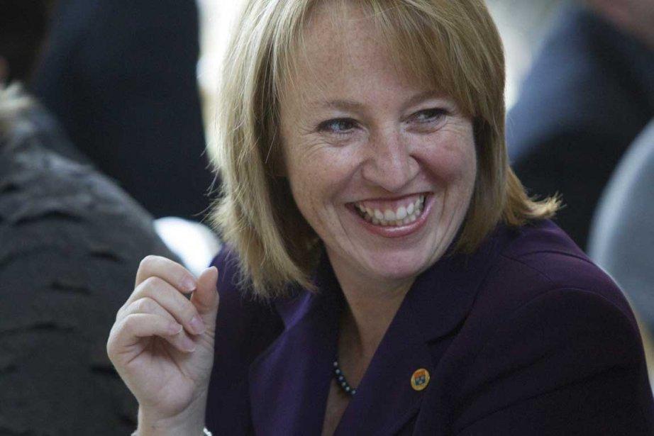 La mairesse de Longueuil Caroline St-Hilaire.... (Photo Ivanoh Demers, La Presse)