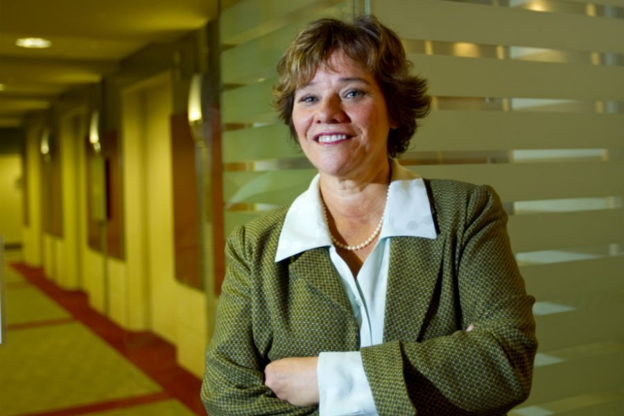 Andrée Mercier, vice-présidente principale d'Aon Hewitt.... (Photo Alain Roberge, La Presse)