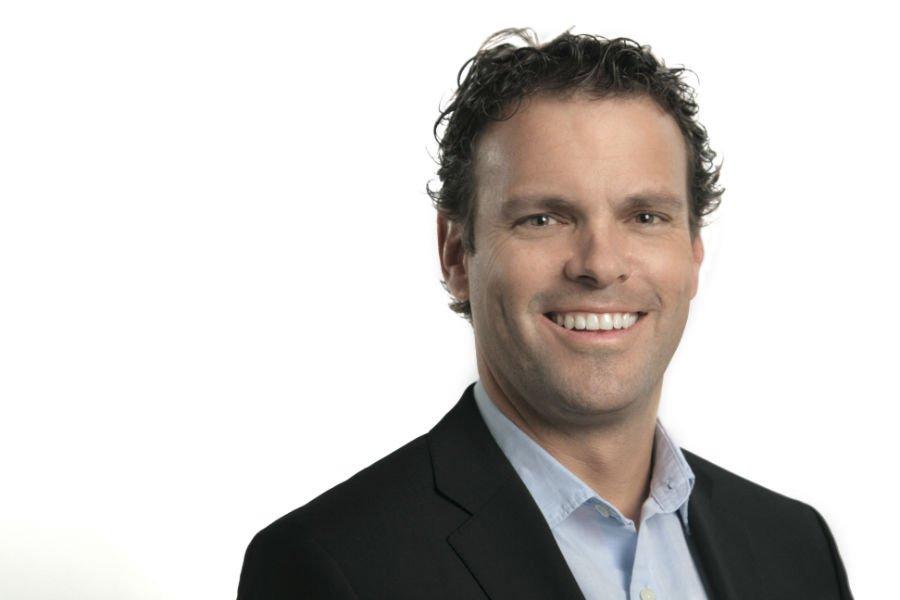 Richard Bartrem, vice-président communication de WestJet... (Photo fournie par Westjet)