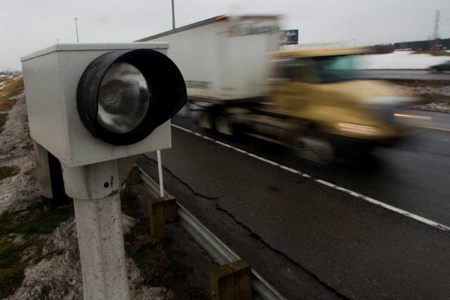 Dans la zone surveillée par un radar photo,... (Photothèque La Presse)