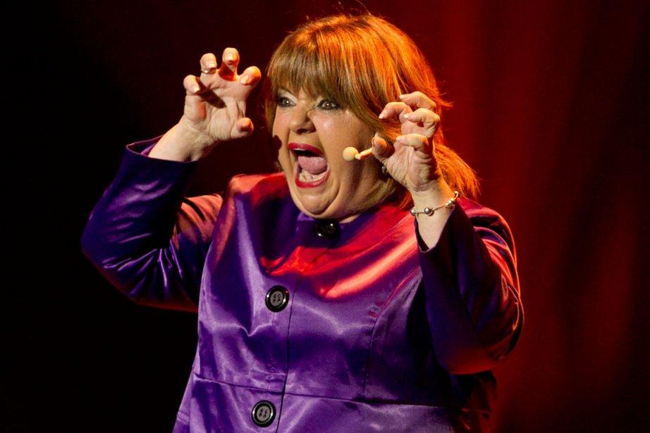 Lise Dion lors de son dernier spectacle Le... (Photo: Hugo-Sébastien Aubert, La Presse)
