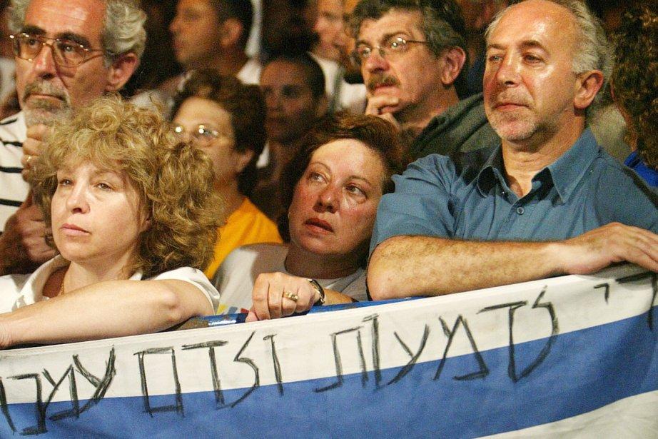 Manifestation de l'organisation israélienne La Paix maintenant, en... (Photo: Reinhard Krause, Archives Reuters)
