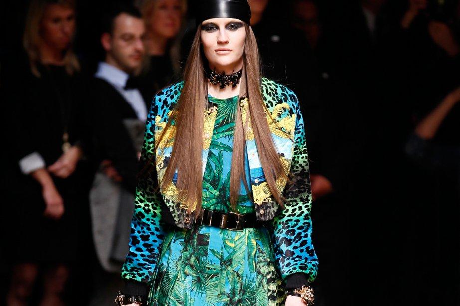 Une création de Versace... (Photo: fournie par H&M)