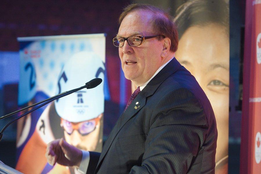 Le président du le Comité olympique canadien (COC),... (Photo: André Pichette, La Presse)