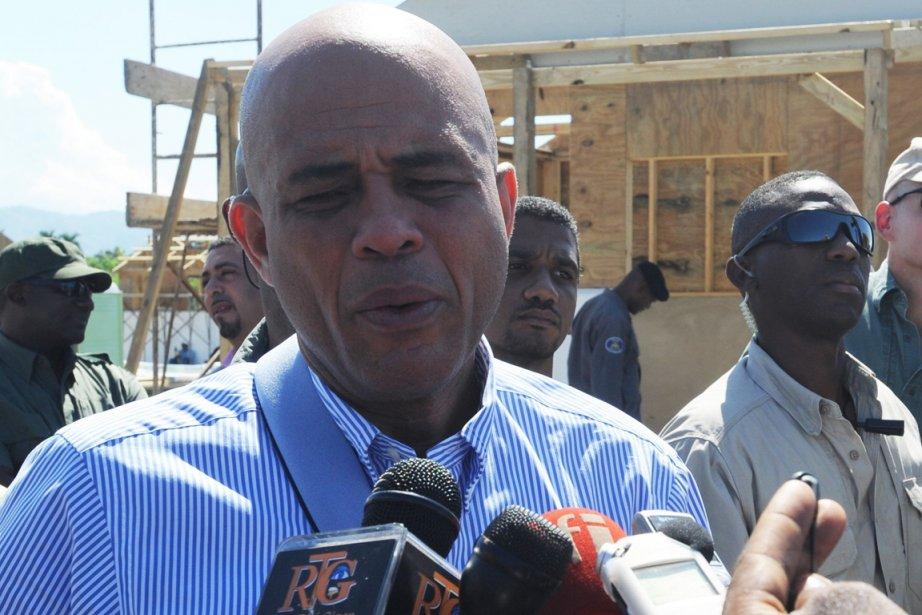 Le président haïtien, Michel Martelly.... (PHoto: THONY BELIZAIRE, AFP)