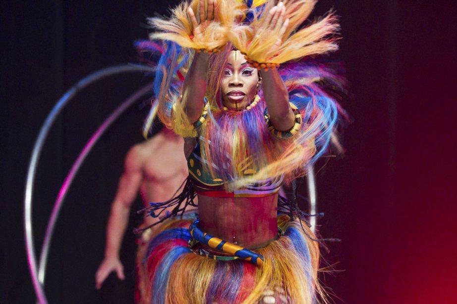 Le Cirque du Soleil fait la promotion de ses spectacles... (Photo: La Presse)