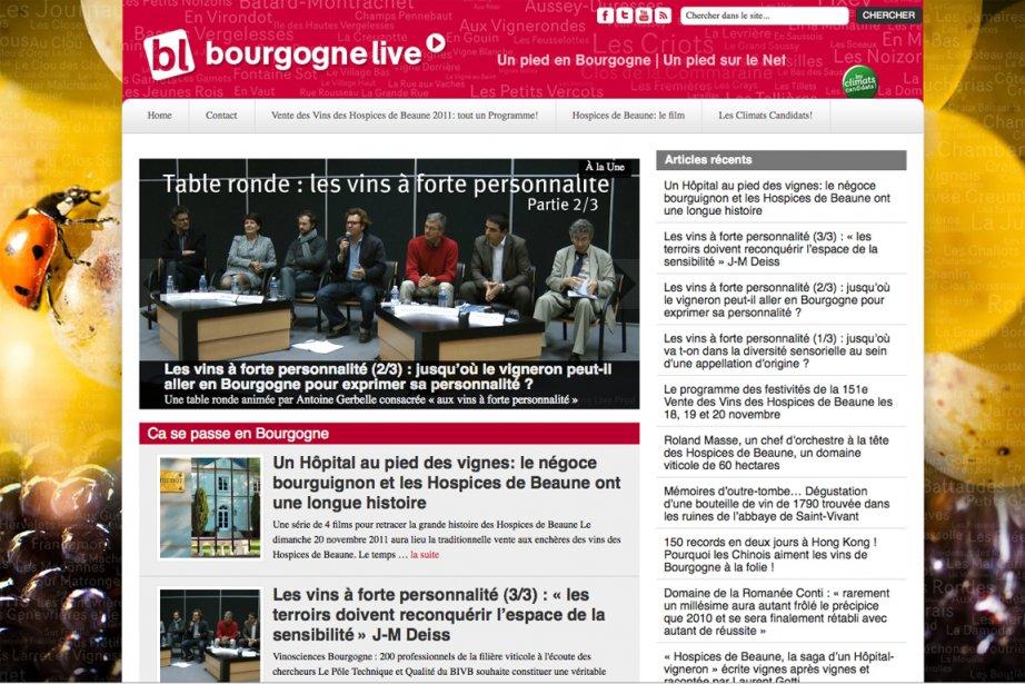 Après des études de Lettres et... (Image tirée du site www.bourgogne-live.com)