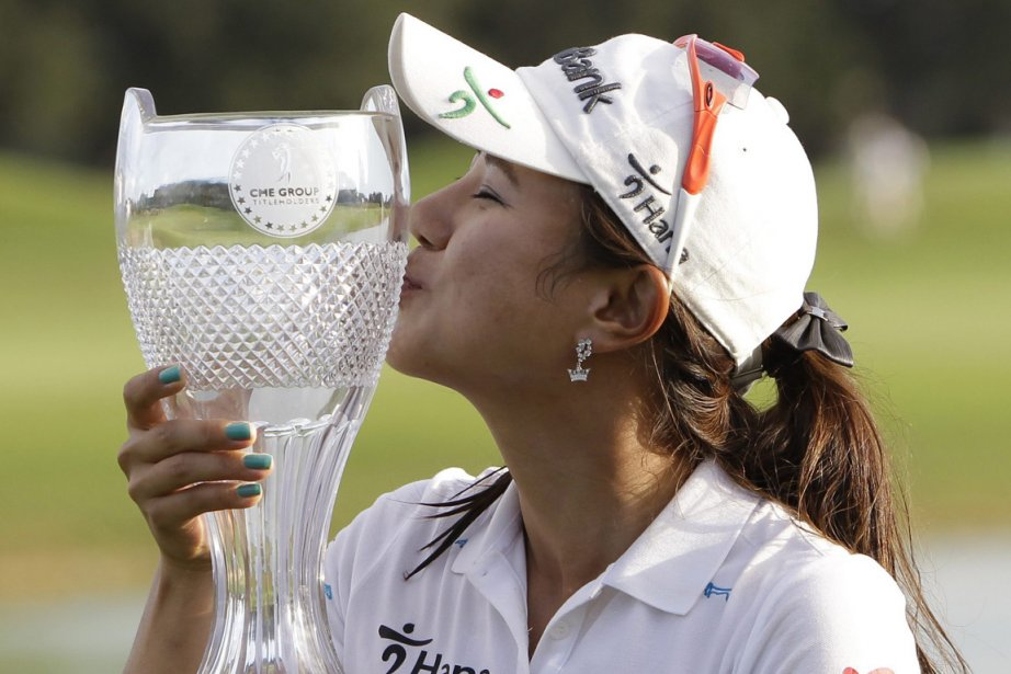 Park Hee-young... (Photo: John Raoux, AP)