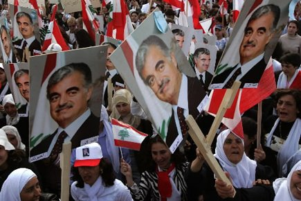 L'assassinat de Rafic Hariri s'est vite transformé en... (Photo: AP)