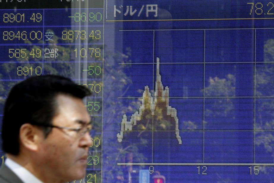 La balance commerciale de la troisième puissance économique... (Photo: Koji Sasahara, AP)