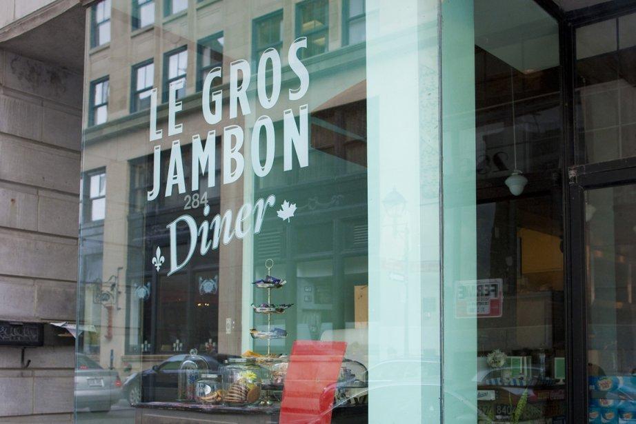 Le Gros Jambon n'a rien d'une table pour... (Photo: André Pichette, La Presse)