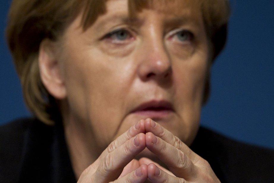 La chancelière allemande, Angela Merkel, devrait enfin se... (Photo: AFP)