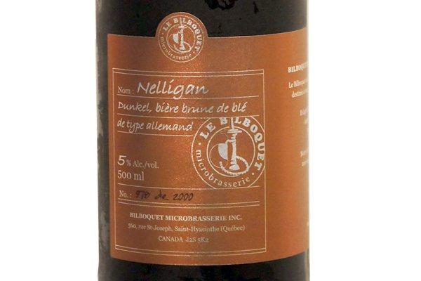 La bière Nelligan du Bilboquet... (Photo: La Presse)