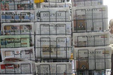 Des centaines de journalistes israéliens ont stigmatisé ce... (Photo: AP)