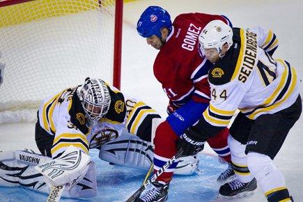 Le Canadien a lancé 32 fois sur Tim... (Photo: André Pichette, La Presse)