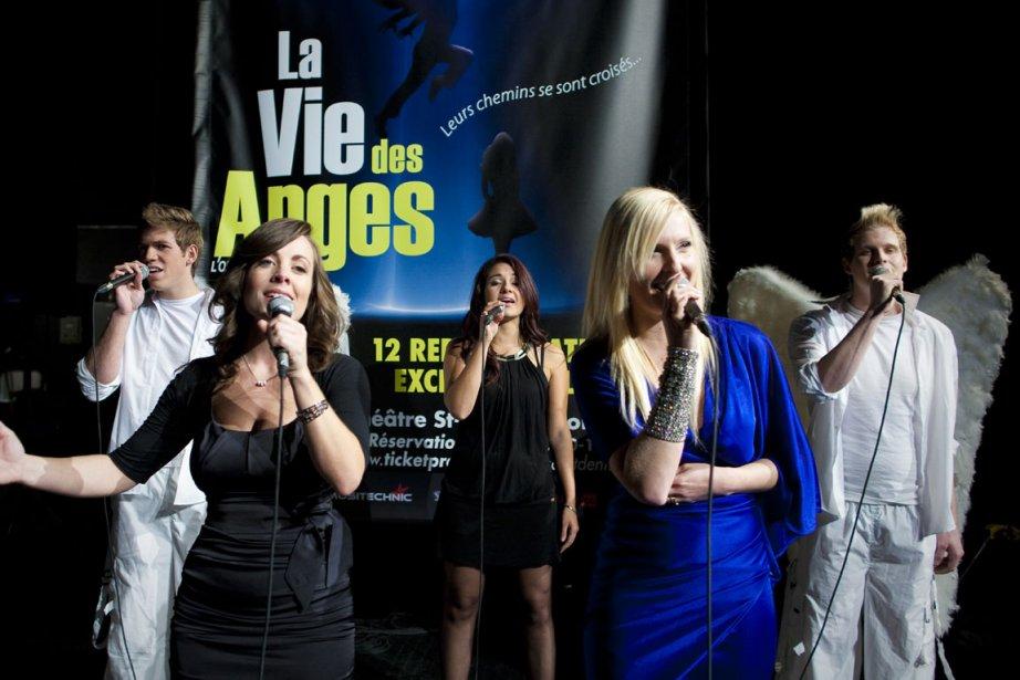 L'opéra pop-rock La vie des anges sera à... (Photo: André Pichette, La Presse)