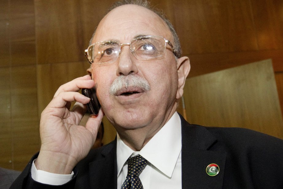 Le premier ministre libyen Abdel Rahim al-Kib a... (Photo: Marco Longari, AFP)