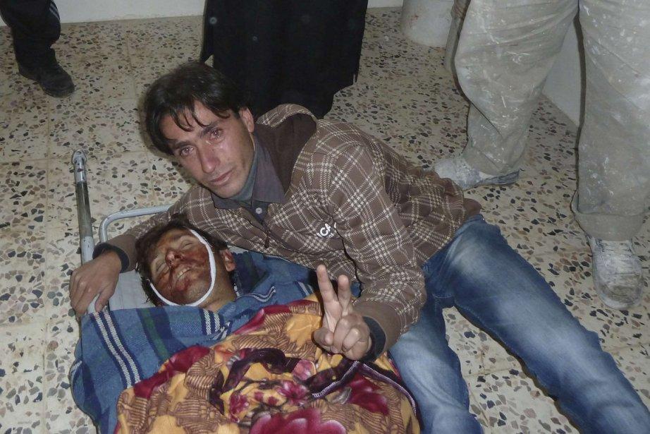 L'une des 17 victimes tuées mardi par l'armée... (Photo: Reuters)