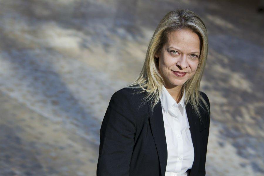 Nathalie Voland, présidente du Complexe Dompark.... (Photo Edouard Plante-Fréchette, La Presse)