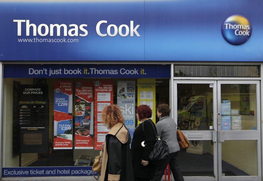 Thomas Cook possède 150 points de vente au... (Photo archives Associated Press)